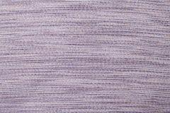 Sukienny tekstury tło z delikatnym pasiastym wzorem Fotografia Stock