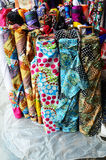 Sukienny tkanina sklep Fotografia Stock