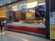 Sukishi, The Japanese Sushi Buffet Restaurant in Bangkok Royalty Free Stock Image
