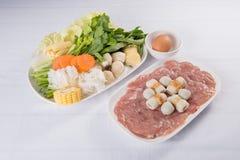 Sukiyaki集合 库存图片
