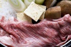 Sukiyaki Fotografia Stock Libera da Diritti