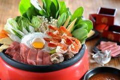 sukiyaki royaltyfri bild