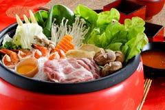 Sukiyaki Royalty-vrije Stock Afbeeldingen