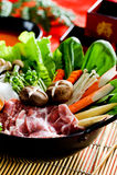 sukiyaki Royaltyfria Bilder