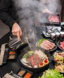 sukiyaki стоковое изображение rf