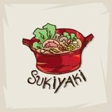 sukiyaki Стоковые Фотографии RF