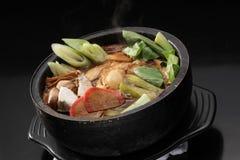 sukiyaki royaltyfria foton