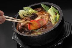 sukiyaki royaltyfri fotografi