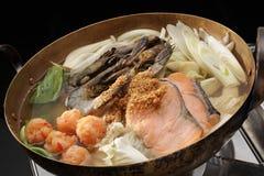 sukiyaki arkivbild