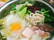 sukiyaki Στοκ εικόνες με δικαίωμα ελεύθερης χρήσης