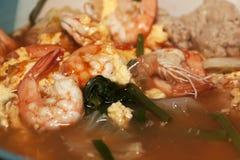 Sukiyaki en caldo imagenes de archivo
