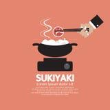 Sukiyaki Japanese Dish Royalty Free Stock Image