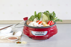 Sukiyaki japanese food style Royalty Free Stock Image