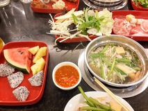 Sukiyaki Royalty Free Stock Photos