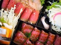 Sukiyaki set Stock Image