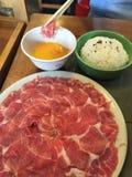 Sukiyaki Shabu Стоковые Фотографии RF