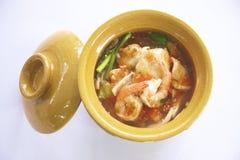 Sukiyaki tailandês Fotos de Stock Royalty Free