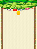 Sukkah Note Royalty Free Stock Photos
