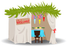 Sukkah pour Sukkot photos stock