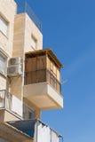 Sukkot в улицах Израиля Стоковые Фото