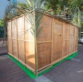 Sukkot i Israel gator Fotografering för Bildbyråer