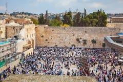 Sukkot in Jerusalem Lizenzfreies Stockbild