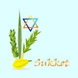 Sukkot Jewish holiday. Stock Photography