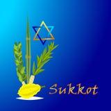 Sukkot Jewish holiday. Royalty Free Stock Images