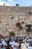 Sukkoten i Jerusalem Royaltyfri Foto