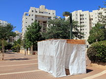 Sukkoth στο Τελ Αβίβ στοκ φωτογραφία