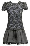 sukni czarny koronka Obraz Stock