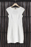 Suknia na ubrania stojaku fotografia royalty free