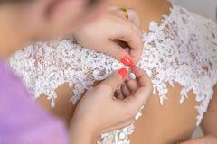 Suknia szczegóły Obraz Royalty Free