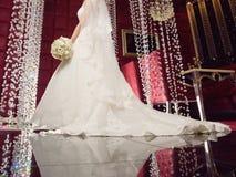 Suknia z Długim ogonem Obrazy Royalty Free