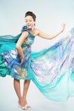 suknia z pokazywać zdjęcia stock