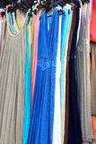 Suknie przy sklepem obraz royalty free