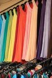 Suknie w sklepie fotografia royalty free