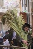 Sukot in Jerusalem Royalty Free Stock Image