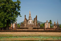 The Sukothai historical park Royalty Free Stock Photos