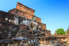 Ruin temple - Sukothai Historical Park - Thailand Stock Photos
