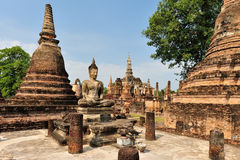 Sukothai historical park Royalty Free Stock Photos