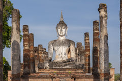 Sukothai historical park Royalty Free Stock Images