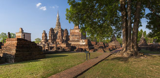 Sukothai historical park Stock Photography