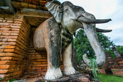 Sukothai historical park, Unesco world heritage Stock Image