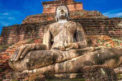 Sukothai historical park, Unesco world heritage Royalty Free Stock Photography