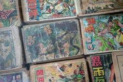 Suksasom museum at Phutthamonthon Sai 2, Bangkok, Thailand, 24 S. Ep, 2018 : Old fiction book at the museum royalty free stock photo