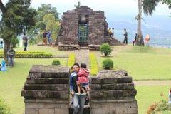 Sukuh świątynia Fotografia Stock