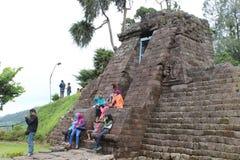 Sukuh tempel Fotografering för Bildbyråer