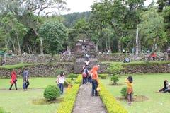 Sukuh tempel Royaltyfria Bilder
