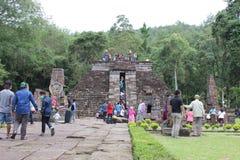 Sukuh tempel Royaltyfria Foton